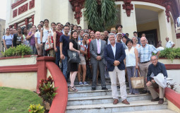 Seminario Gastronómico Internacional Excelencias Gourmet-2019-Visita a Facultad de Turismo
